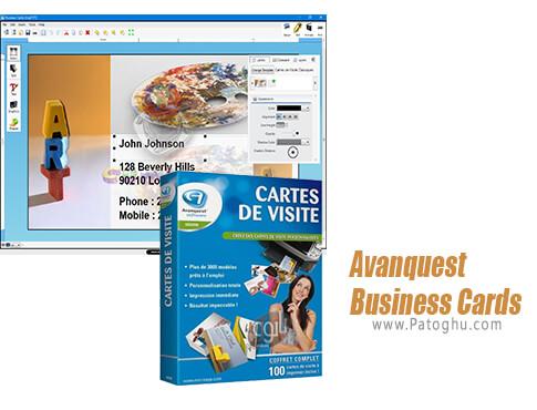 دانلود Avanquest Business Cards برای ویندوز