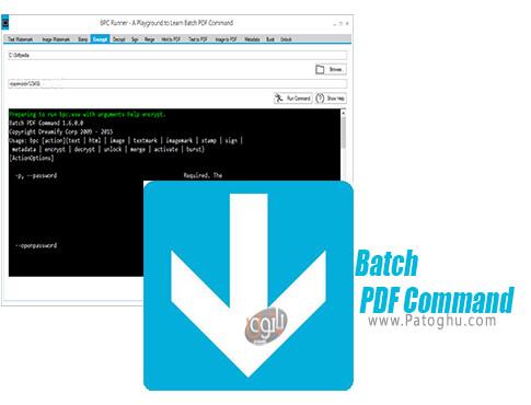 دانلود Batch PDF Command برای ویندوز