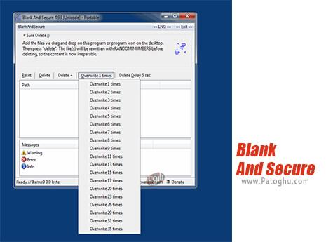 دانلود Blank And Secure برای ویندوز