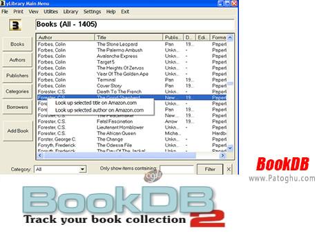 دانلود BookDB برای ویندوز