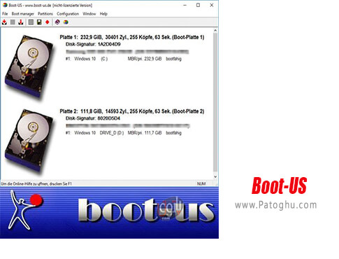 دانلود Boot-US برای ویندوز