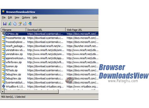 دانلود BrowserDownloadsView برای ویندوز