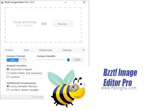 دانلود Bzzt Image Editor Pro برای ویندوز