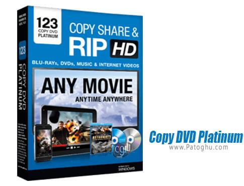 دانلود Copy DVD Platinum برای ویندوز