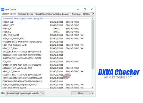 دانلود DXVA Checker برای ویندوز