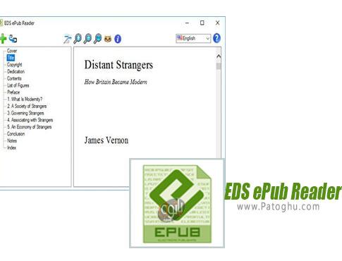 دانلود EDS ePub Reader برای ویندوز