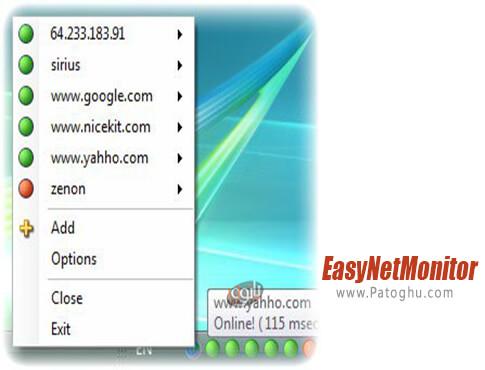 دانلود EasyNetMonitor برای ویندوز