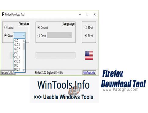 دانلود Firefox Download Tool برای ویندوز