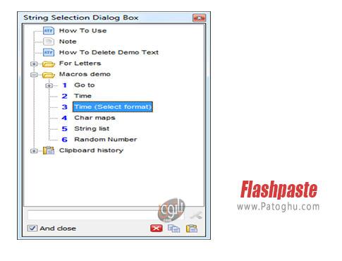 دانلود Flashpaste برای ویندوز