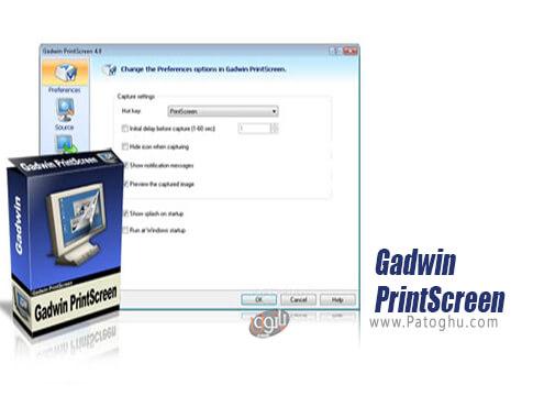 دانلود Gadwin PrintScreen برای ویندوز