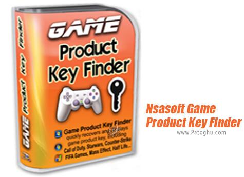 دانلود Nsasoft Game Product Key Finder برای ویندوز