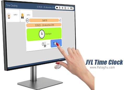 دانلود JYL Time Clock برای ویندوز