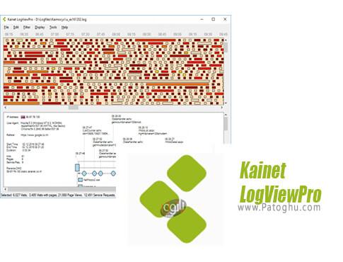 دانلود Kainet LogViewPro برای ویندوز
