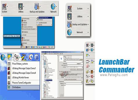 دانلود LaunchBar Commander برای ویندوز