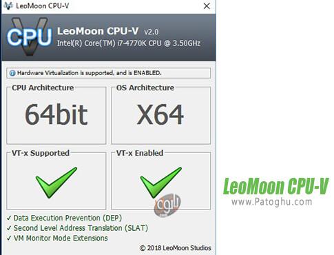 دانلود LeoMoon CPU-V برای ویندوز