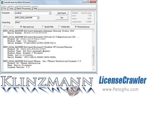 دانلود LicenseCrawler برای ویندوز