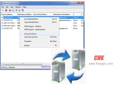 دانلود NetworkLatencyView برای ویندوز کامپیوتر