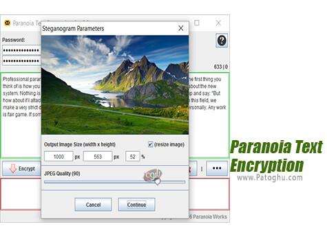 دانلود Paranoia Text Encryption برای ویندوز