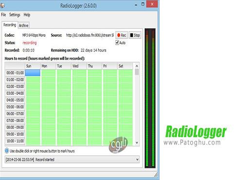 دانلود RadioLogger برای ویندوز