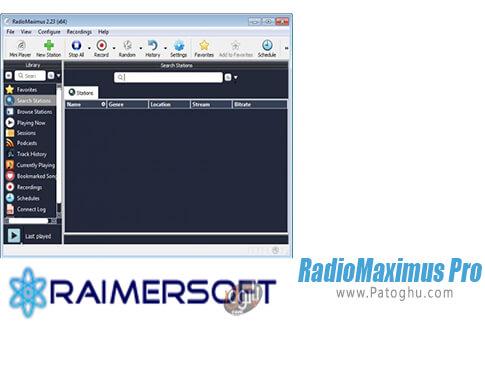 دانلود RadioMaximus Pro برای ویندوز