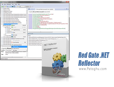 دانلود Red Gate .NET Reflector برای ویندوز