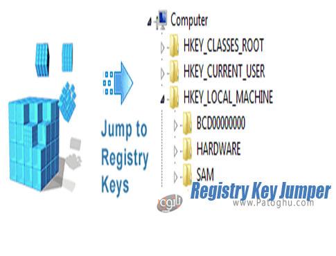 دانلود Registry Key Jumper برای ویندوز