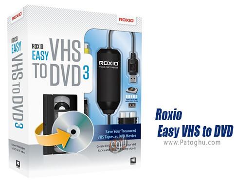دانلود Roxio Easy VHS to DVD برای ویندوز
