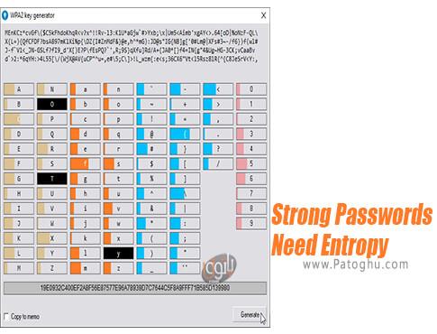 دانلود Strong Passwords Need Entropy برای ویندوز