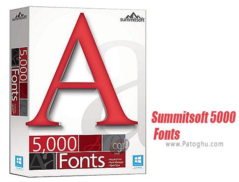 دانلود Summitsoft 5000 Fonts برای ویندوز
