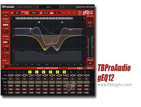 دانلود TBProAudio gEQ12 برای ویندوز