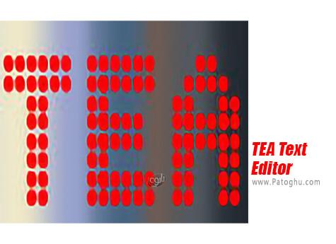 دانلود TEA Text Editor برای ویندوز