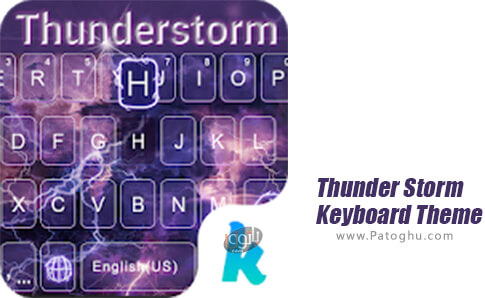 دانلود Thunder Storm Keyboard برای اندروید