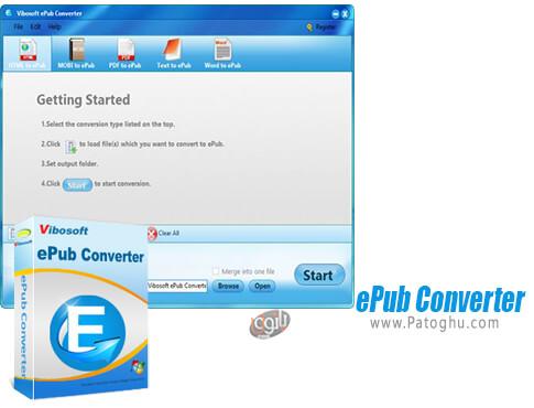 دانلود Vibosoft ePub Converter برای ویندوز