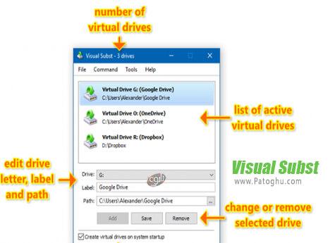 دانلود Visual Subst برای ویندوز