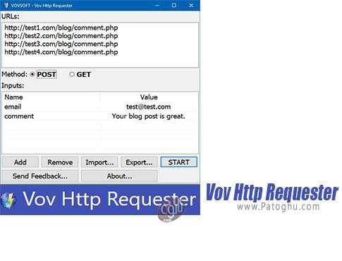 دانلود Vov Http Requester برای ویندوز