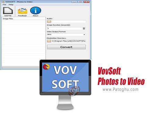 دانلود VovSoft Photos to Video برای ویندوز