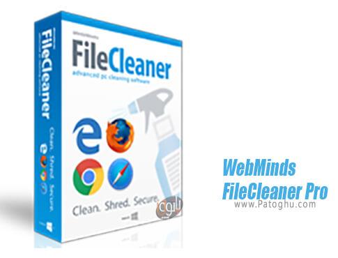 دانلود WebMinds FileCleaner Pro برای ویندوز