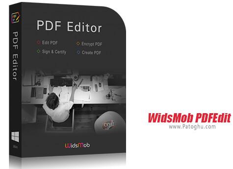 دانلود WidsMob PDFEdit برای ویندوز