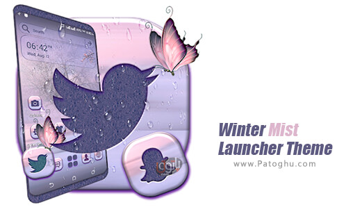 دانلود Winter Mist Launcher Theme برای اندروید