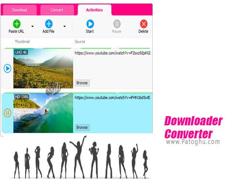 دانلود YouTube Downloader Converter برای ویندوز