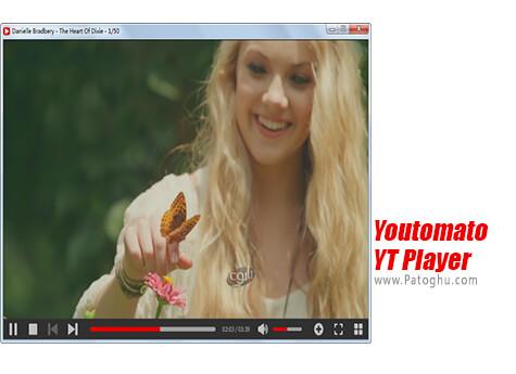 دانلود Youtomato YT Player برای ویندوز