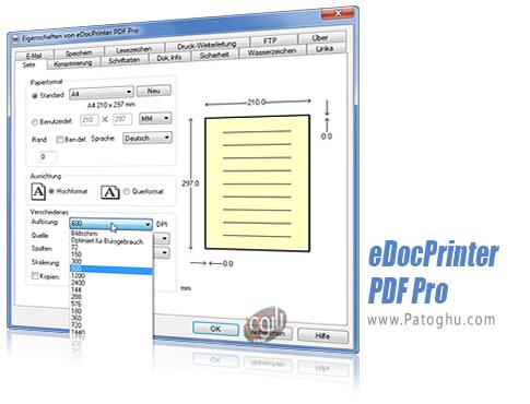 دانلود eDocPrinte PDF Pro برای ویندوز